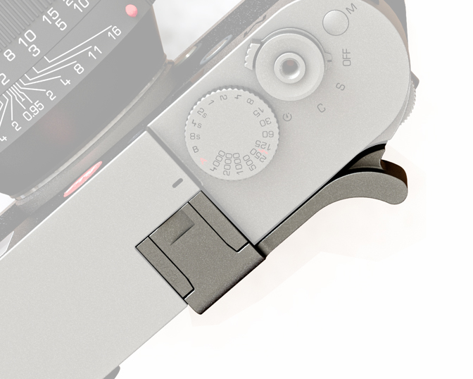 Thumbs Up EP-10S, silver for Leica M - typ240 / M monochrom - typ246