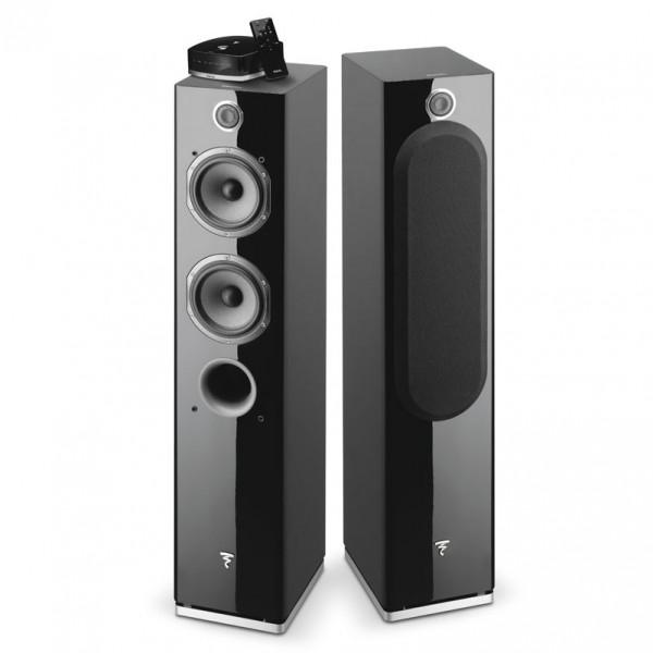 Focal Easya Wireless , Zwart ( 2 speakers + hub)