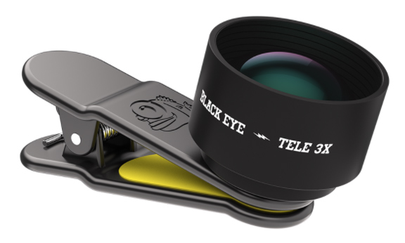 Black Eye Pro Tele 3x Lens voor Smartphone