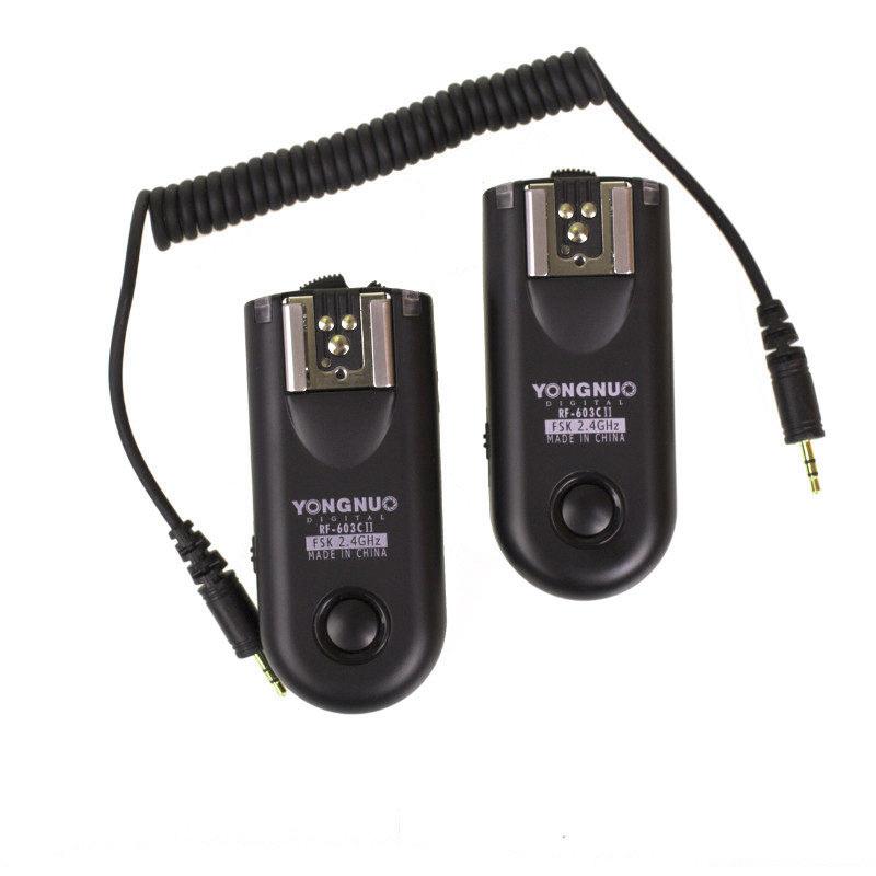 Yongnuo RF-603 IIN1 Wireless Flash Trigger Set voor Nikon