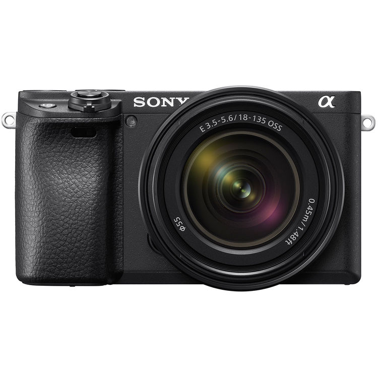 Sony A6400 body zwart + 18-135MM F/3.5-5.6 OSS