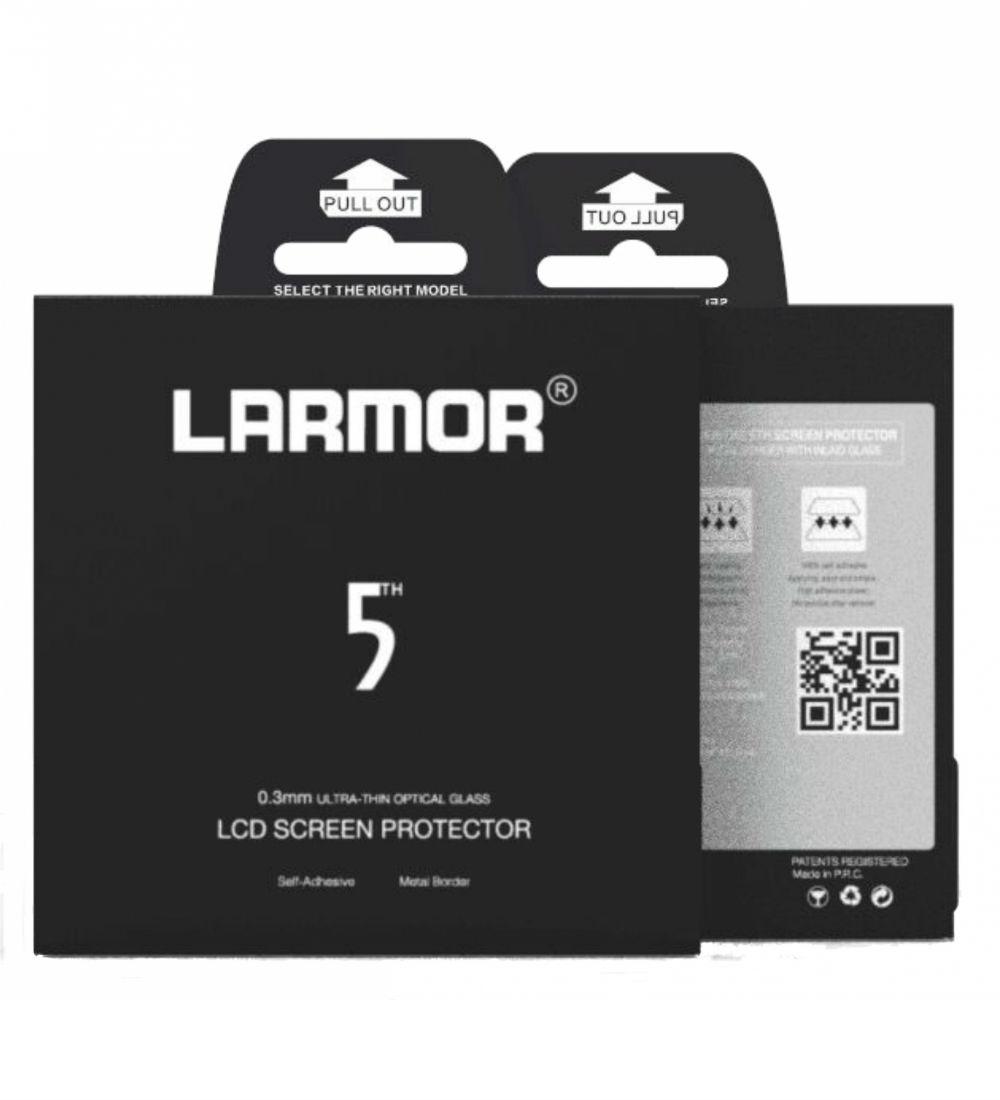 Larmor V screenprotector Canon 6D mark II