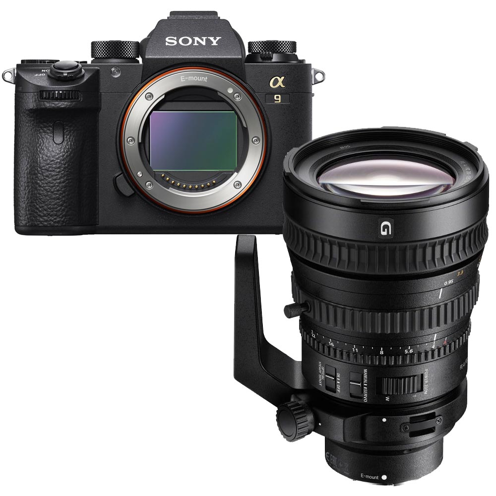 Sony A9 + 28-135mm F/4.0G powerzoom