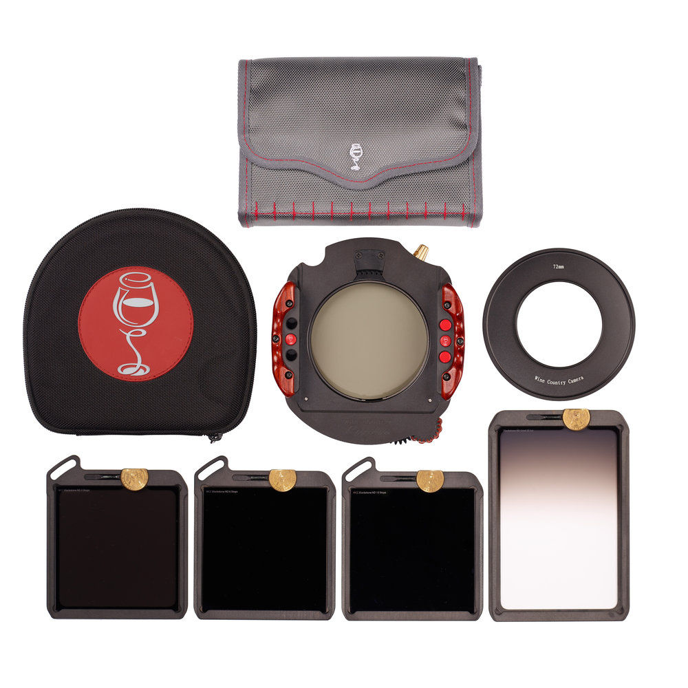 Wine Country Camera 100mm Master Filter and Holder Kit with 62mm Adapter