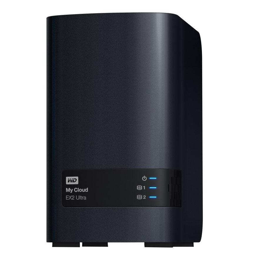 Western Digital My Cloud EX2 Ultra NAS 0TB Personal Cloud Storage Case