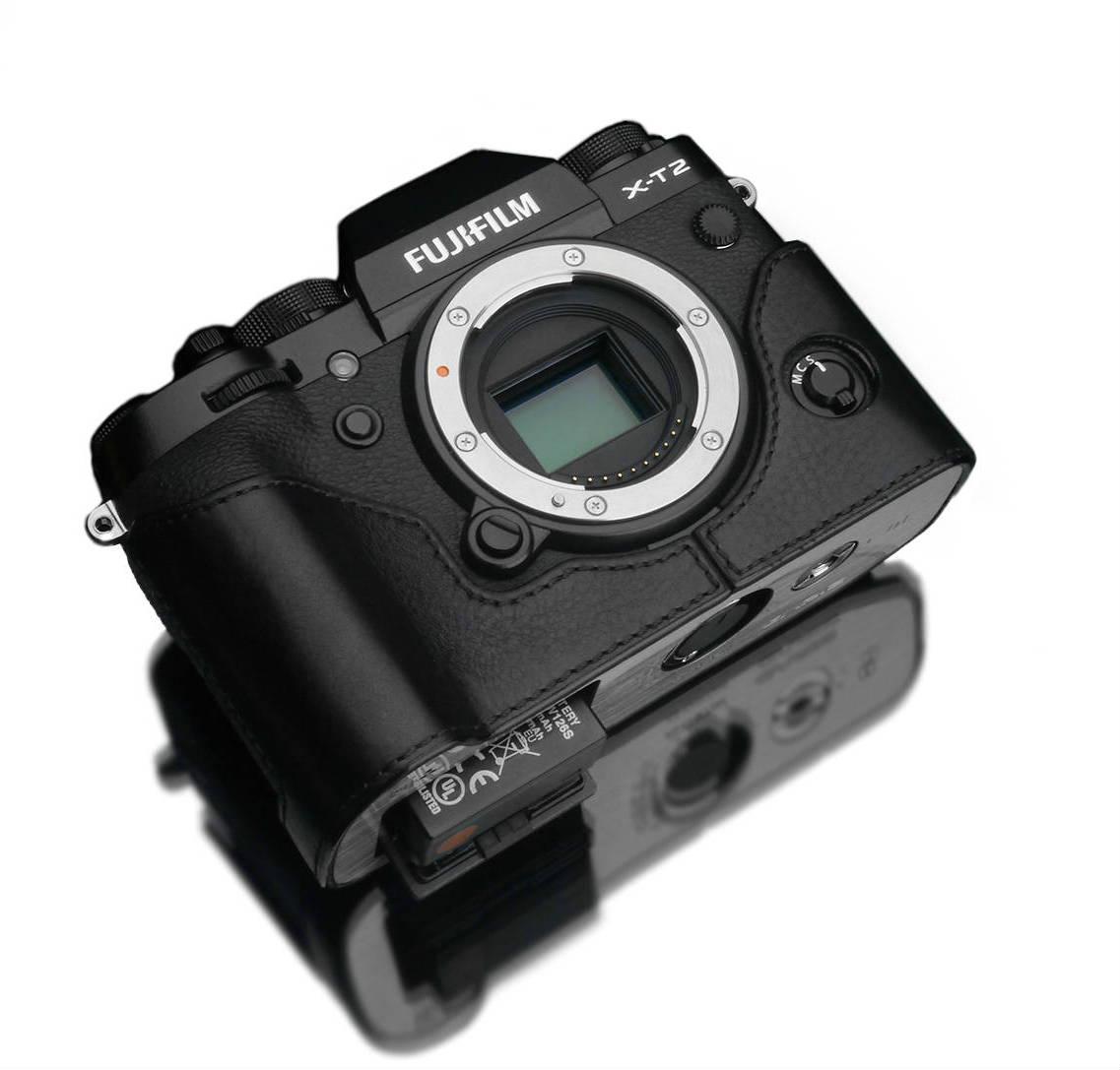 Gariz XS-CHXT2BK Halfcase Black voor X-T2
