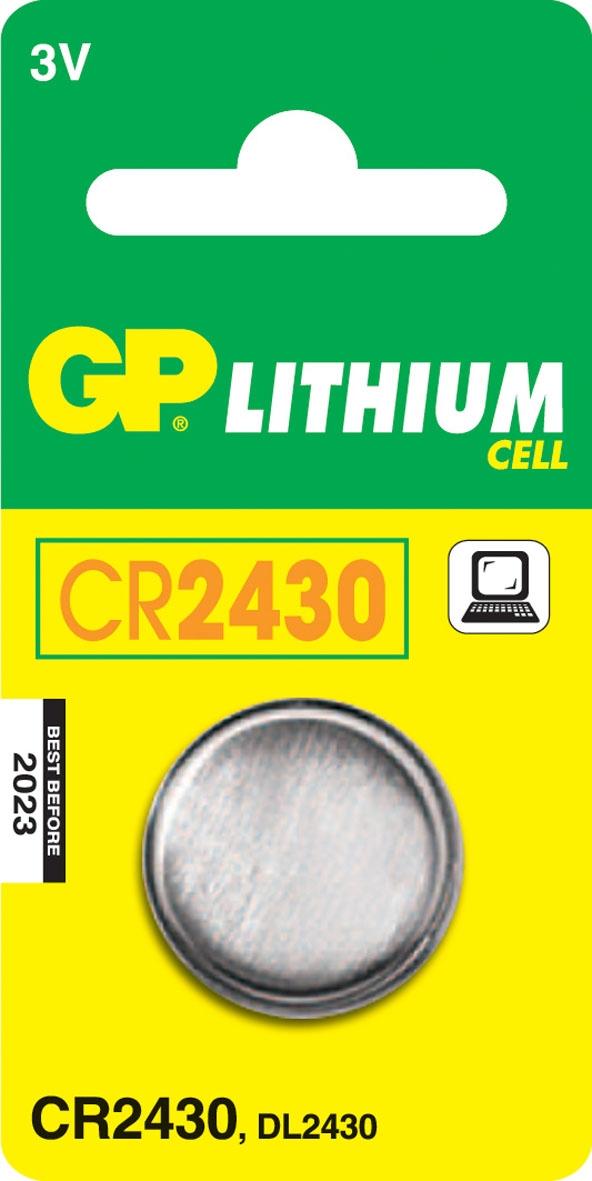Gp Bat.lith.knoopcel Cr2430 ^ Stuk