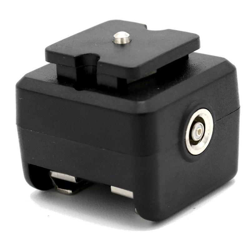 Caruba hotshoe adapter - (middencontact naar X-Contact)