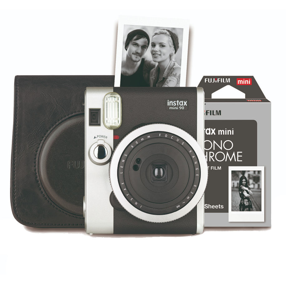 Fujifilm Instax Mini 90 Retro Camera zwart