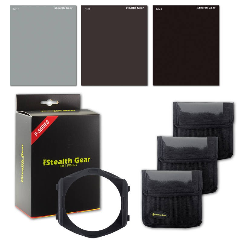 Stealth Gear ND Filter Kit P-systeem incl. filterhouder
