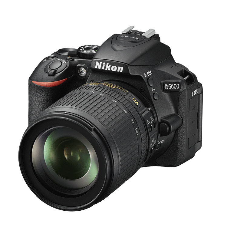 Nikon D5600 kit zwart AF-S DX 18-105 VR