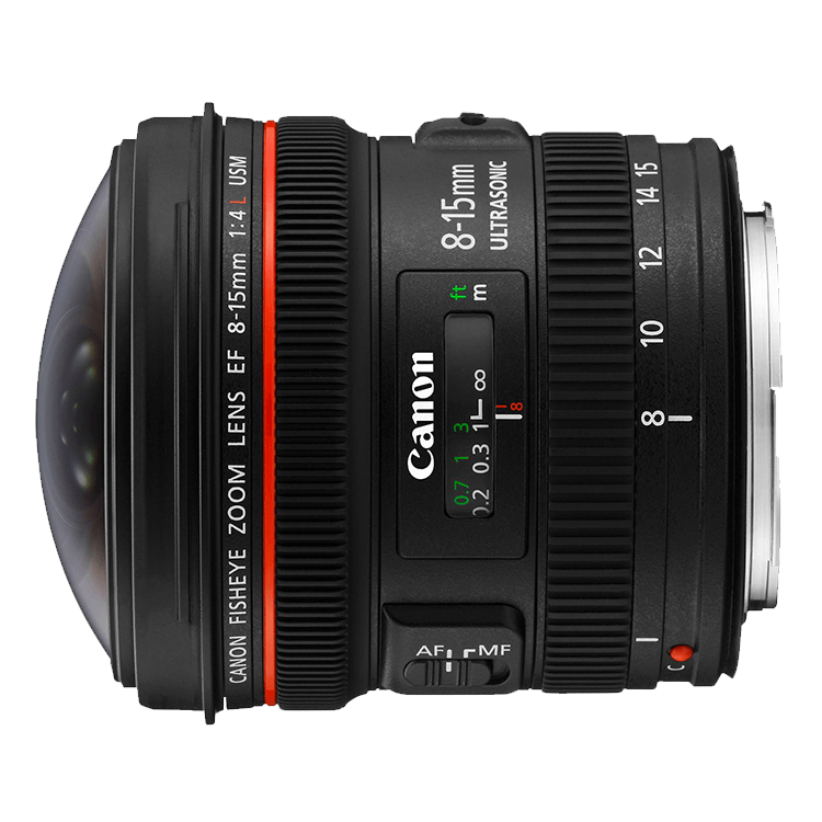 Canon EF 8-15mm f/4 Fisheye