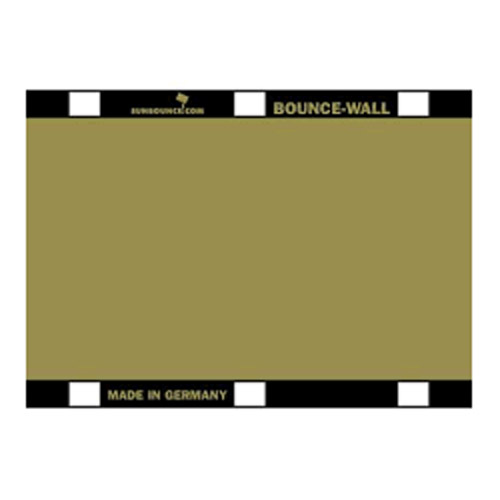 Sunbounce Reflector 20x28cm ZEBRA goud voor BOUNCE-WALL