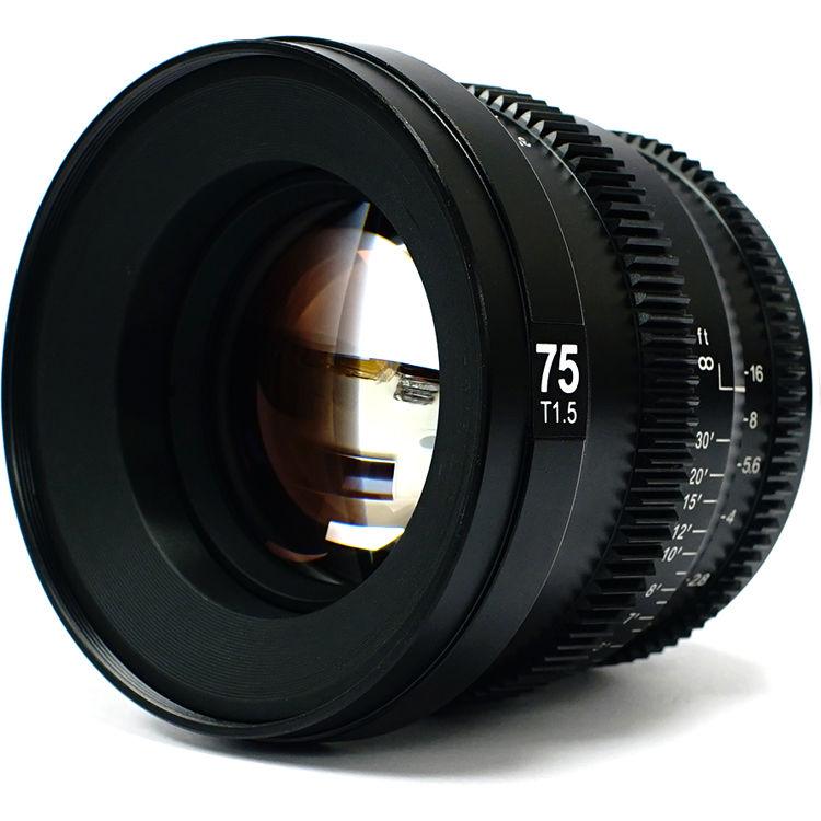 SLR Magic MicroPrime 75mm T1.5 CINE Lens - FE Mount