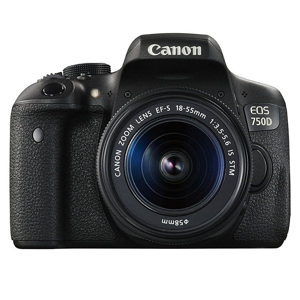 Canon EOS 750D + 18-55mm iS STM OUTLET