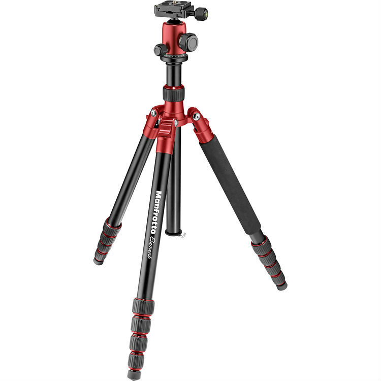 Manfrotto Element Traveller Big rood