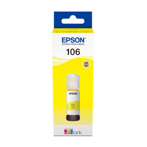 Epson 106 70ml Geel inktcartridge