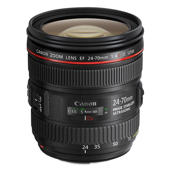 Canon EF 24-70mm F/4.0 L iS USM + EW-83M zonnekap BULK