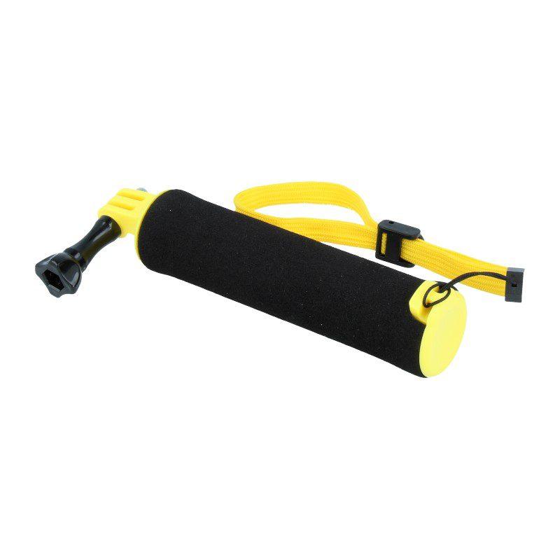 Caruba floating handgrip GoPro mount (zwart/geel)