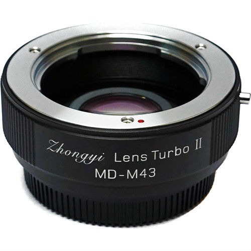 Zhongyi Mitakon Lens Turbo adapter MD-M43 Mark 2