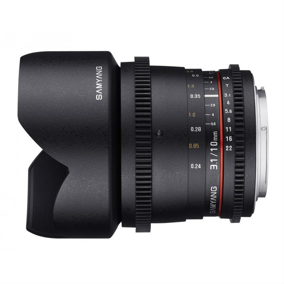 Samyang 10mm T3.1 ED AS NCS CS VDSLR Pentax