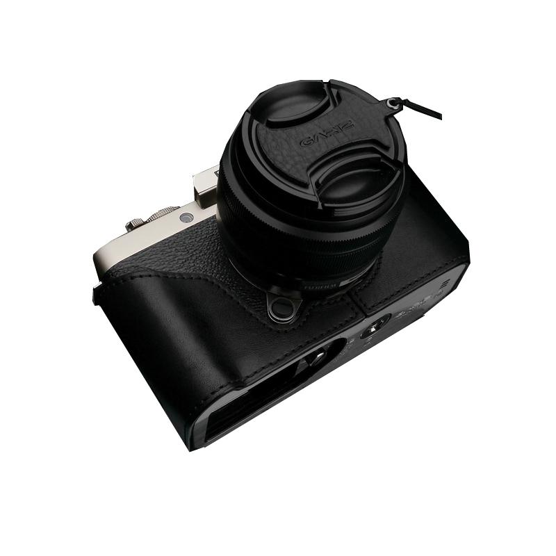 Gariz halfcase zwart voor Fujifilm X-T100