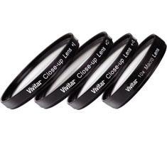 Vivitar 62mm Close Up Lens Set +1 +2 +4 +10