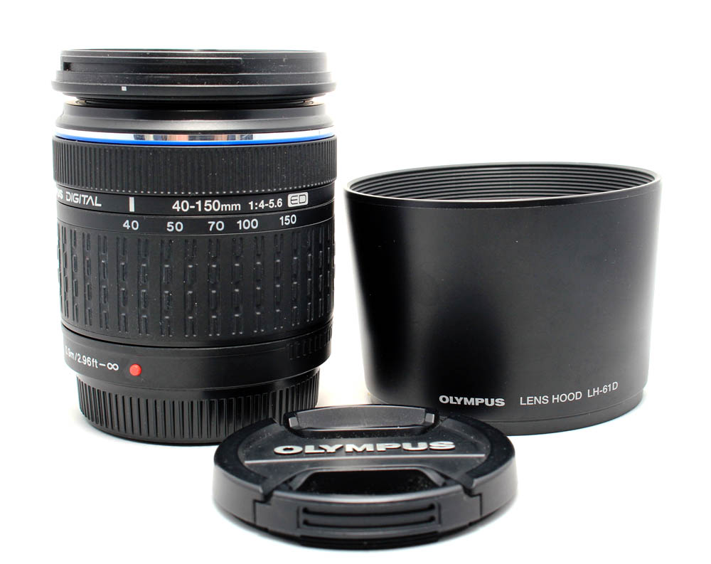 Olympus FT 40-150mm F/4-5.6 ED zwart Zuiko Digital occasion