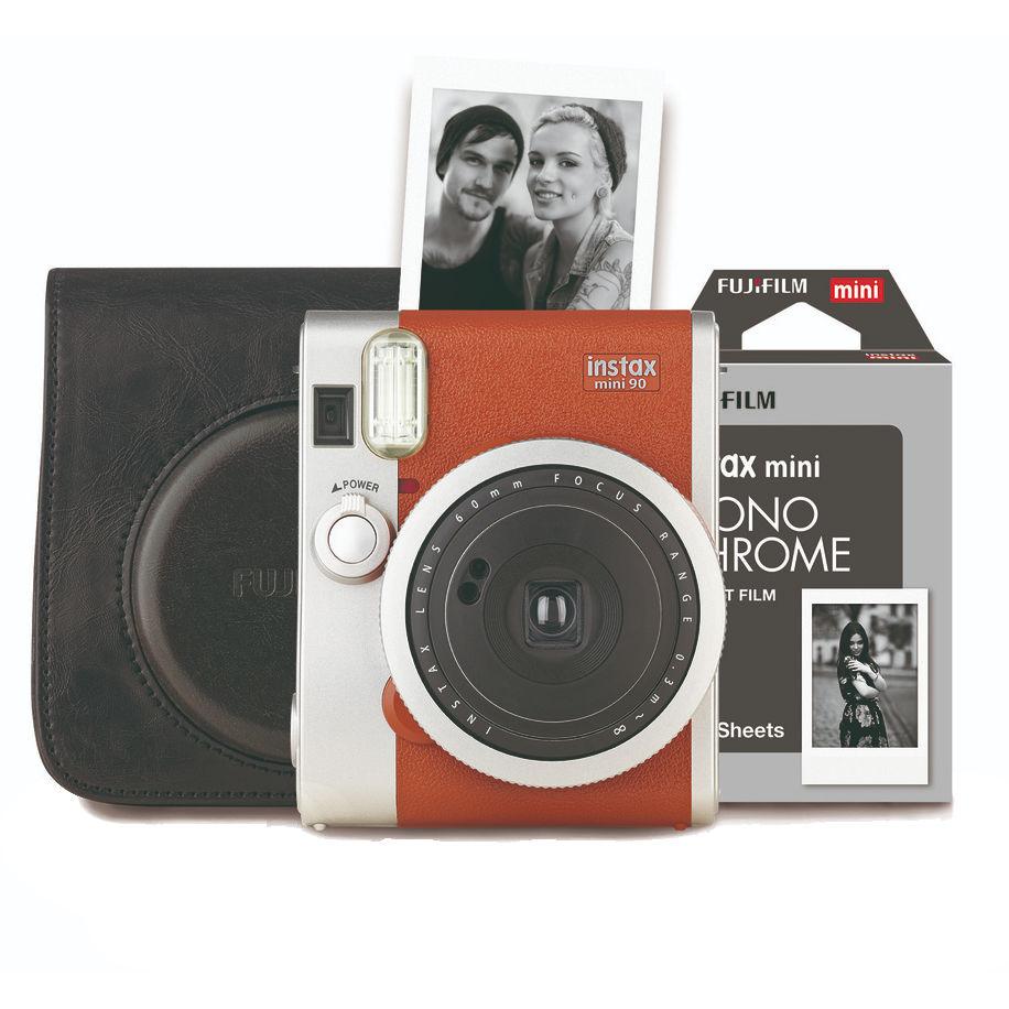 Fujifilm Instax Mini 90 Retro Camera bruin