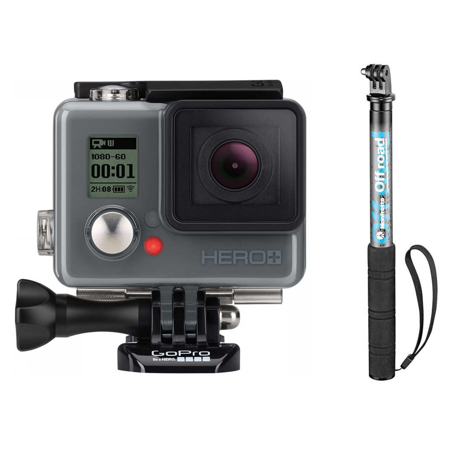 GoPro Hero+ LCD met Touchscreen + Manfrotto Selfie Stick