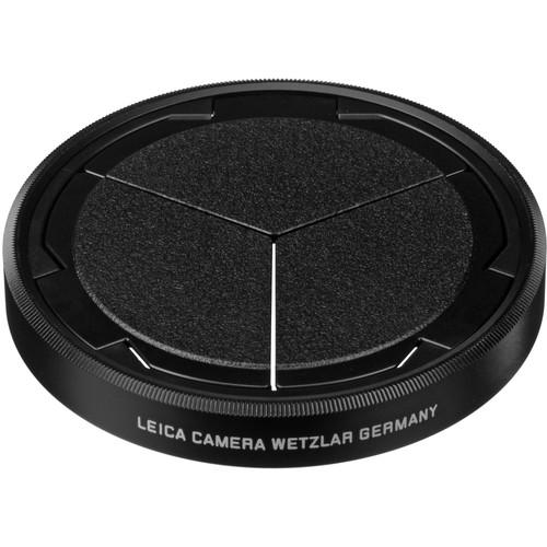 Leica 19529 D-lux 7 auto lens cap silver/black