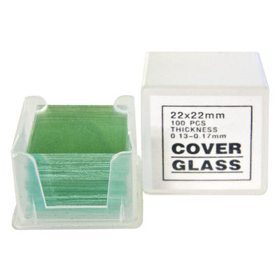 Bresser Microscoop Dekglaasjes 100 stuks 22x22mm