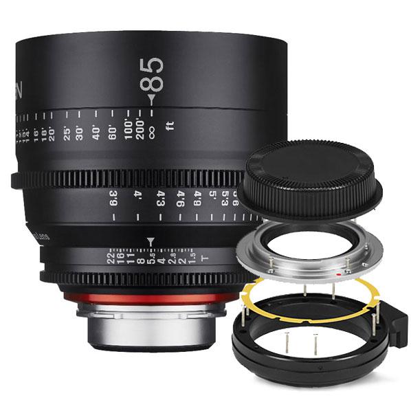 Xeen 85mm T1.5 Canon EF + Mount Kit Nikon
