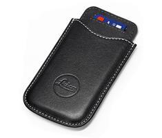 Leica 18538 Credit Card Holder Leather Black