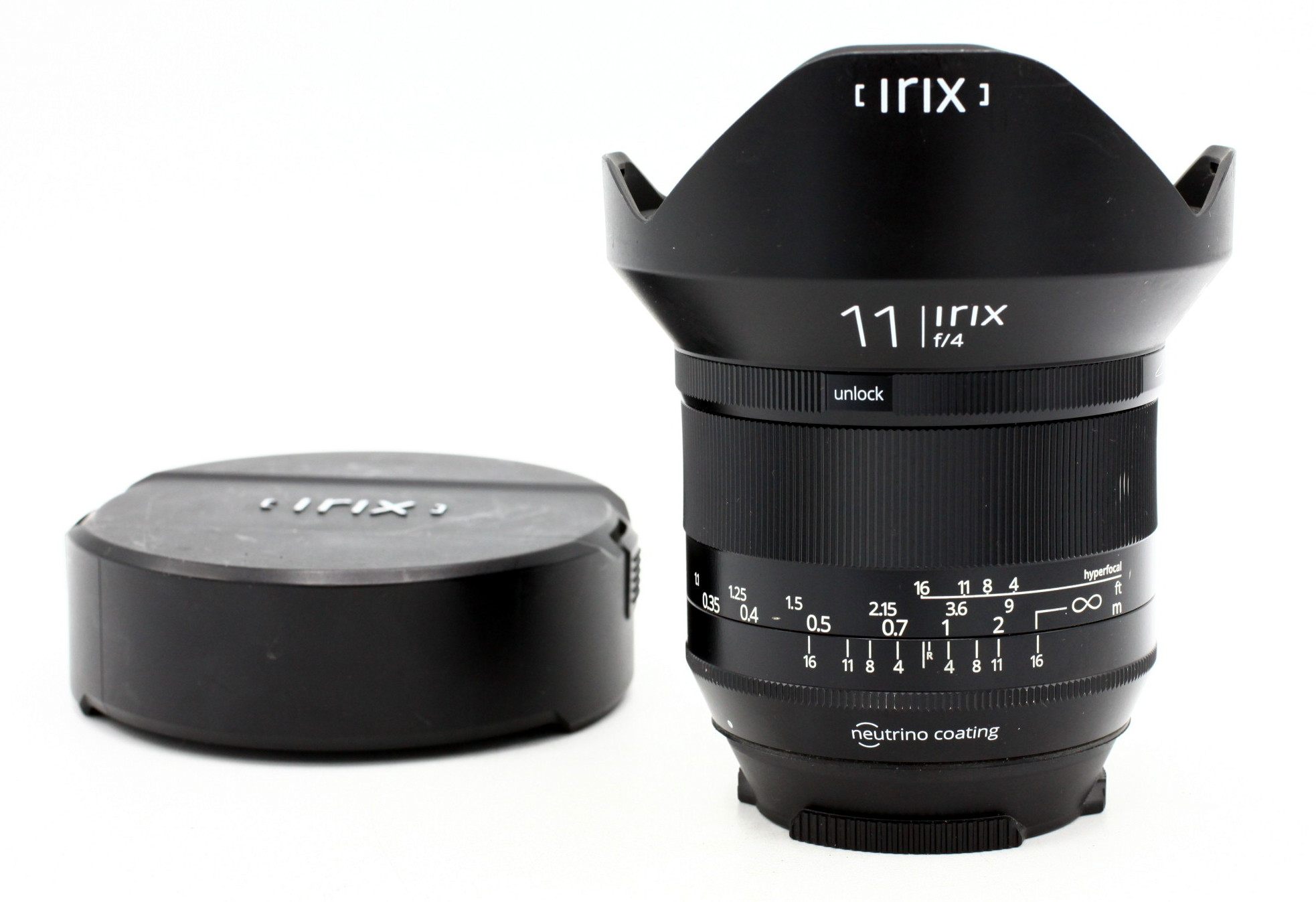 Irix 11mm F/4.0 Blackstone Canon occasion