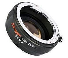Zhongyi Mitakon Lens Turbo adapter Leica R naar Sony Nex