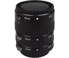 KAMERA EXPRESS tussenringen set 12/20/36mm voor Sony A