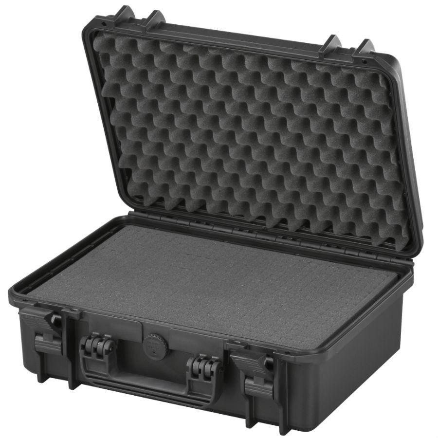 WCS Protection 430 koffer zwart incl. plukschuim