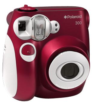 Polaroid 300 Instant Camera rood