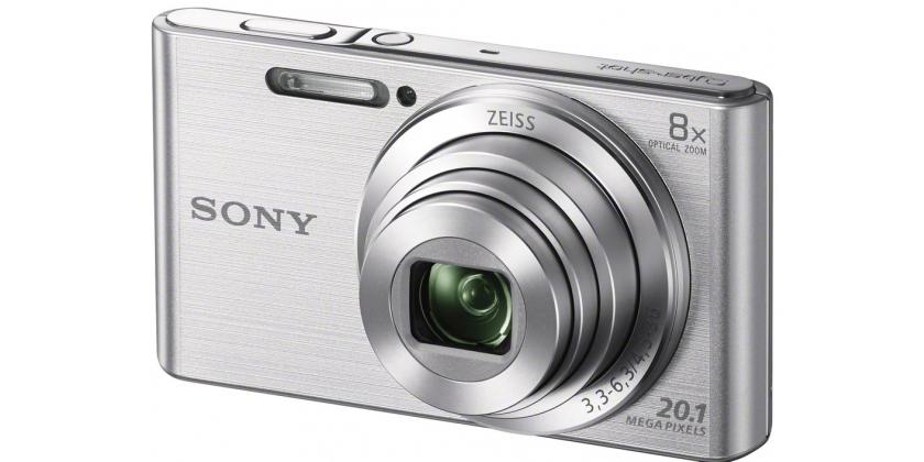 Sony Cybershot DSC-W830 zilver (DSCW830S.CE3)