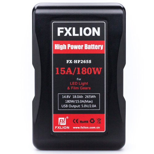 FXlion V-lock High Power 14.8V/18.0AH/265WH