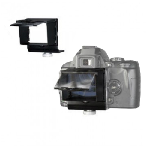 LCD zonnekap met loep voor Nikon D-90