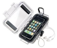 Peli i1015 iPhone zwart/transparant