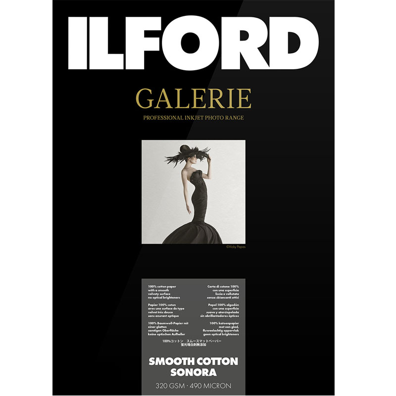 Ilford Galerie Smooth Cotton Sonora 320g 13x18 50 vel