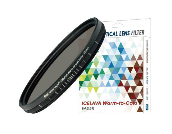 ICELAVA Warm to Cold Fader 77mm