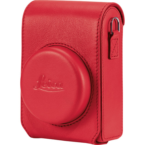 Leica 18847 C-Lux leather case red