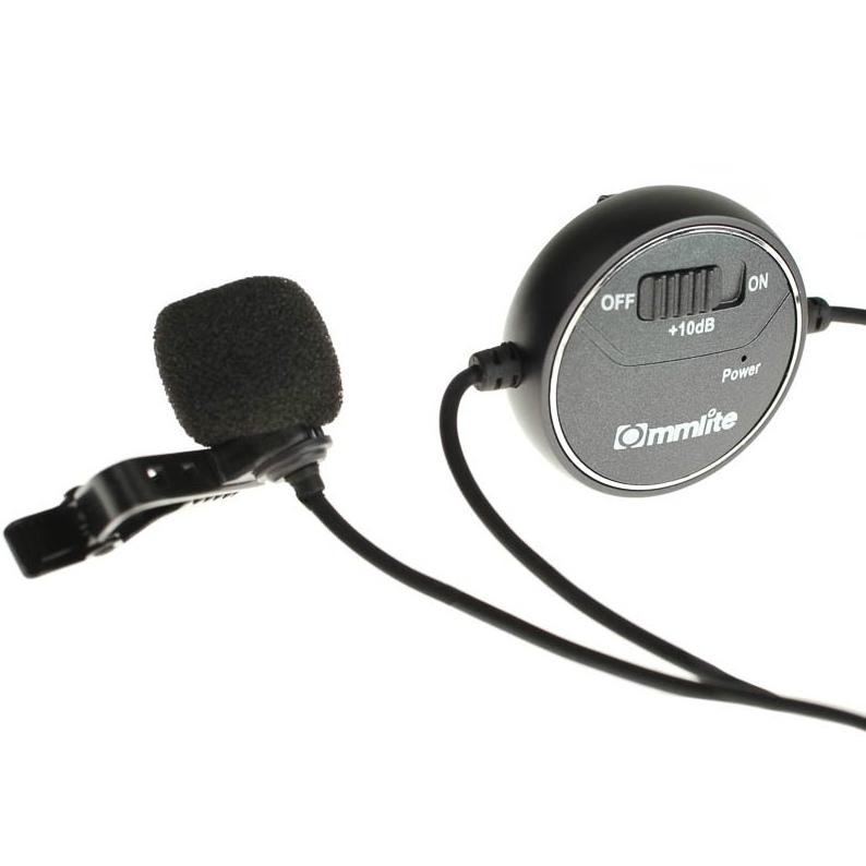 Comica CVM-V03 dB Adjusting Lavalier Microphone voor GoPro