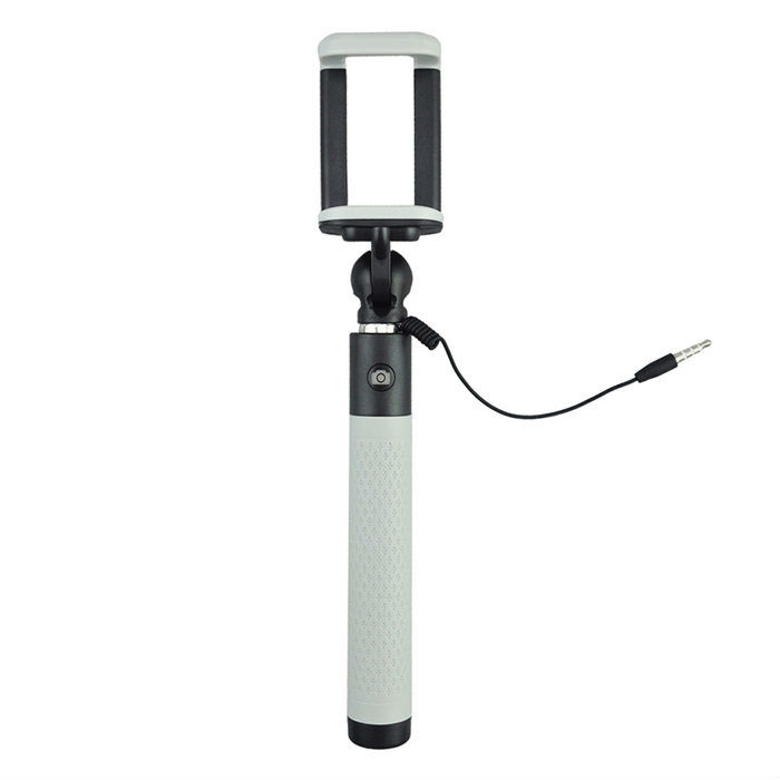 Caruba Selfie Stick Plug & Play Grey
