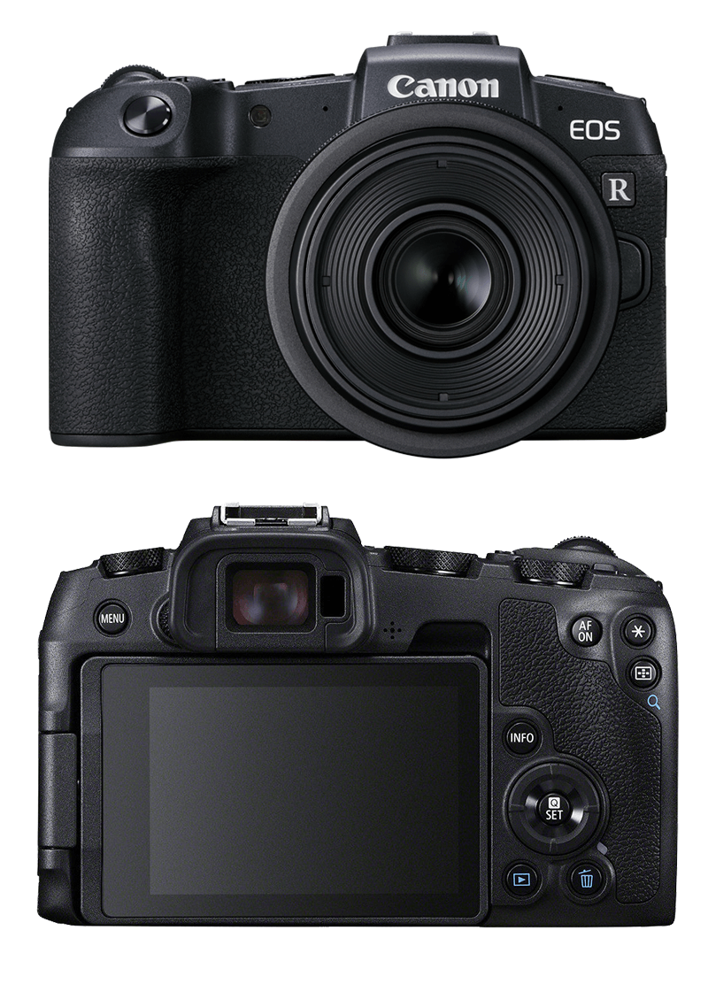 Canon EOS RP full frame systeemcamera productfoto