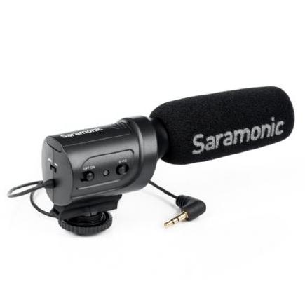 Saramonic Mini Condensator Richtmicrofoon SR-M3